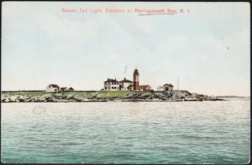 Beaver Tail Light, entrance to Narragansett Bay, R.I.