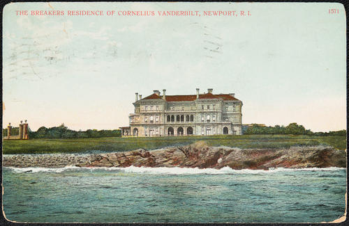 The Breakers residence of Cornelius Vanderbilt, Newport, R.I.