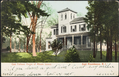 Oldd Fellows Home of Rhode Island, East Providence, R.I.