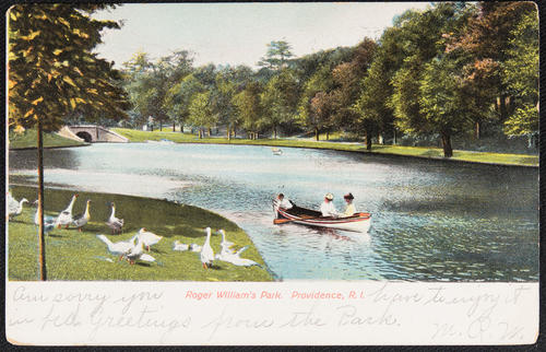 Roger William's Park, Providence, R.I.