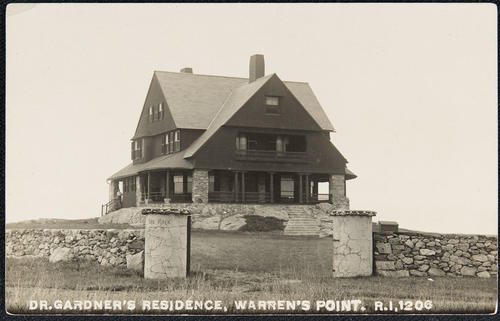 Dr. Gardner's Residence, Warren's Point, R.I.