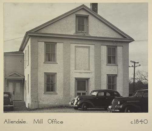 Allendale. Mill Office c. 1840