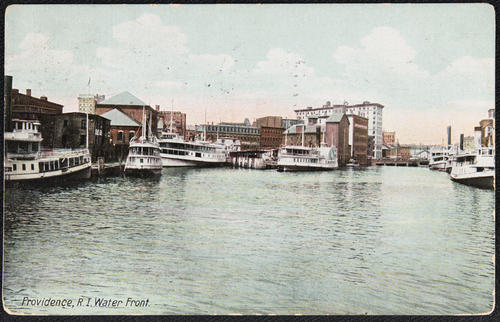 Providence, R.I. Water Front.
