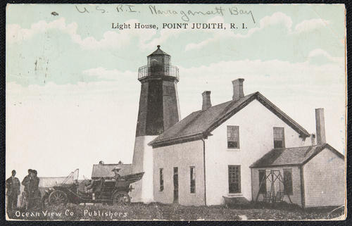 Light House, Point Judith, R.I.