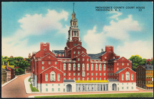 Providence County Court House, Providence, R.I.