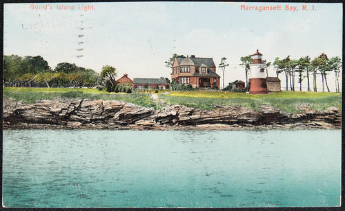 Gould's Island Light.  Narragansett Bay, R.I.