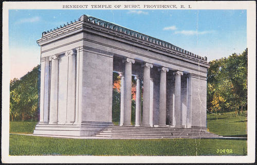 Benedict Temple of Music, Providence, R.I.