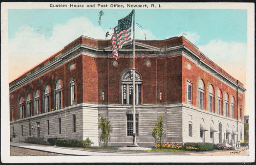 Custom House and Post Office, Newport, R.I.