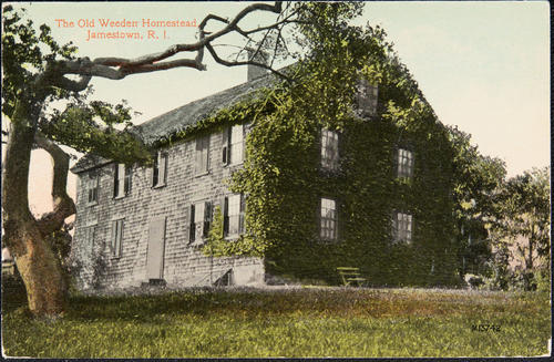 The Old Weeden Homestead, Jamestown, R.I.