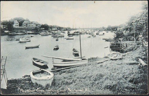 Pawtuxet Cove, looking out, Pawtuxet, R.I.