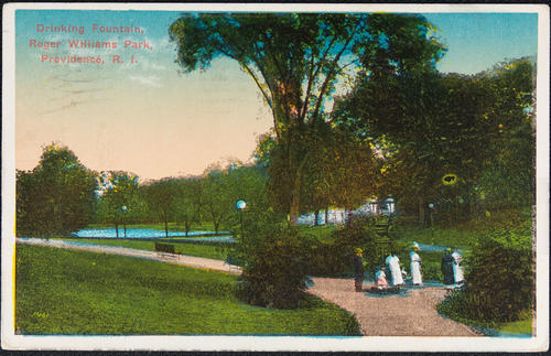 Drinking Fountain, Roger Williams Park, Providence, R.I.