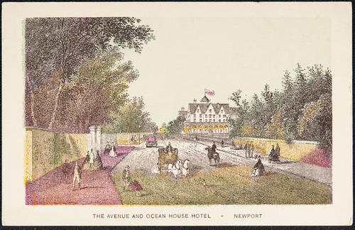 The Avenue and Ocean House Hotel  - Newport