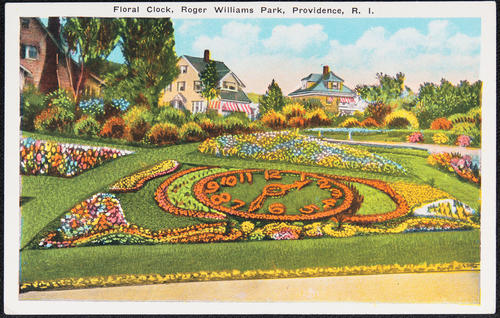 Floral Clock, Roger Williams Park, Providence, R.I.