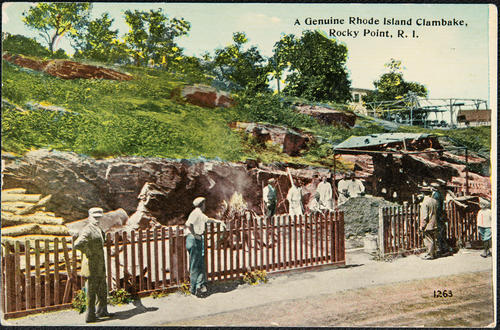 A Genuine Rhode Island Clambake, Rocky Point, R.I.
