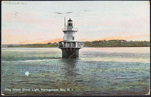 Hog Island Shoal Light, Narragansett Bay, R.I.