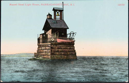 Mussel Shoal Light House, Narragansett, R.I.