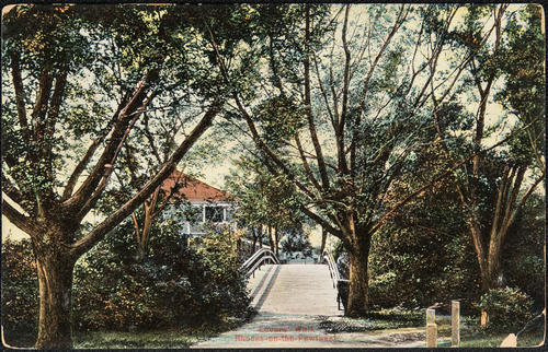 Lovers Walk. Rhodes-on-the-Pawtuxet