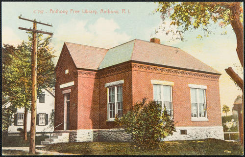 Anthony Free Library, Anthony, R.I.