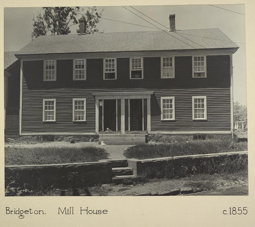Bridgeton. Mill House c. 1855