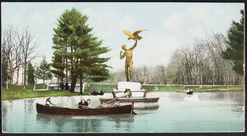 [Monument Statue; Roger Williams Park, Providence, R.I.]