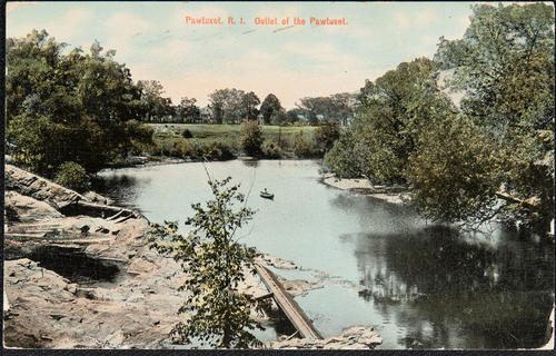 Pawtuxet, R.I. Outlet of the Pawtuxet.