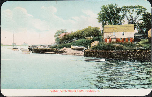 Pawtuxet Cove, looking south, Pawtuxet, R.I.