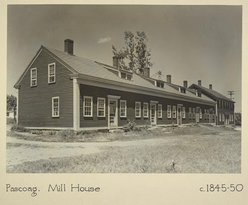 Pascoag. Mill House c. 1845-50