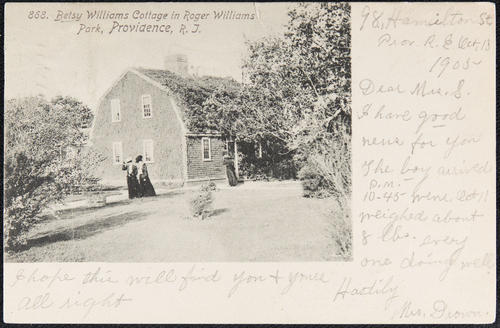Betsy Williams Cottage in Roger Williams Park, Providence, R.I.