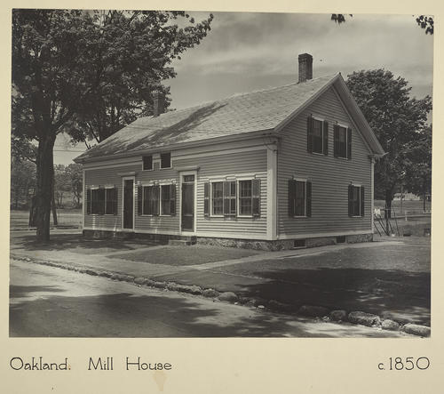 Oakland. Mill House c. 1850