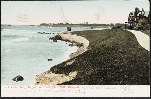 Ochre Point and Cliff Walk, Newport, R.I.