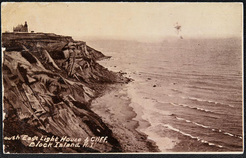South East Light House & Cliff, Block Island, R.I.
