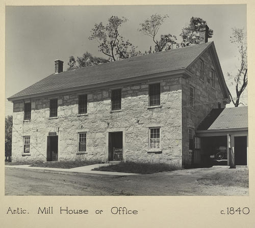 Arctic. Mill House or Office c. 1840