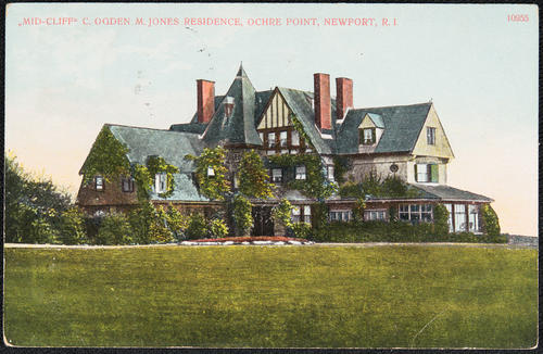 """Mid-Cliff"", C. Ogden M. Jones residence, Ochre Point, Newport, R.I."
