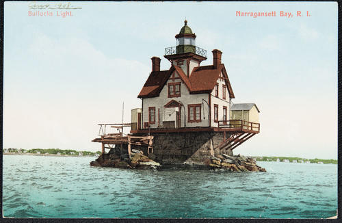 Bullocks Light. Narragansett Bay, R.I.
