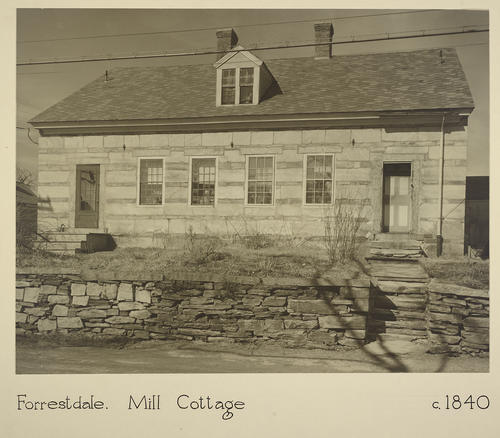Forrestdale. Mill Cottage c. 1840