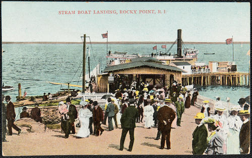 Steam Boat Landing, Rocky Point, R.I.
