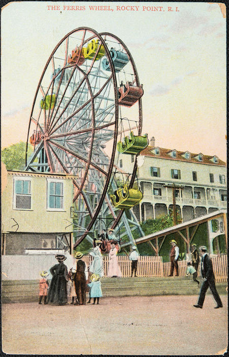 The Ferris Wheel, Rocky Point, R.I.