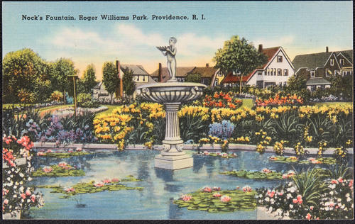 Nock's Fountain, Roger Williams Park, Providence, R.I.