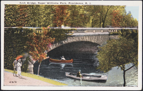 Arch Bridge, Roger Williams Park, Providence, R.I.