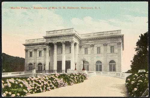 """Marble Palace"", residence of Mrs. O.H. Belmont, Newport, R.I."