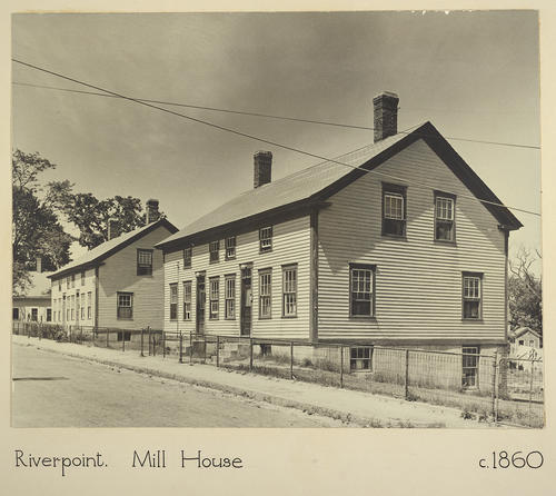 Riverpoint. Mill House c. 1860