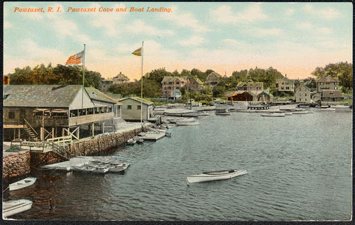 Pawtuxet, R.I. Pawtuxet Cove and Boat Landing