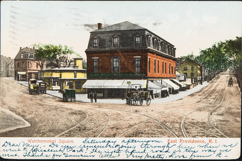 Watchemoket Square. East Providence, R.I.