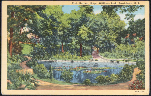 Rock Garden, Roger Williams Park, Providence, R.I.