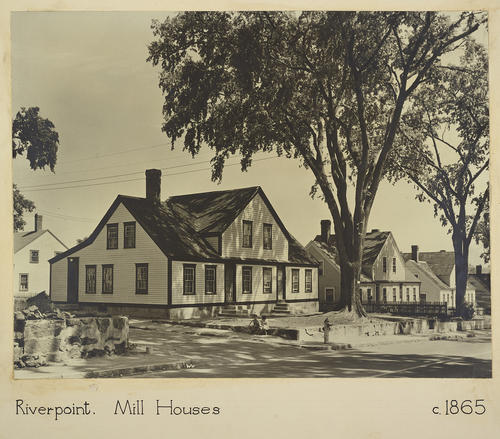 Riverpoint. Mill Houses c. 1865