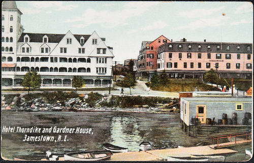 Hotel Thorndike and Gardner House, Jamestown, R.I.