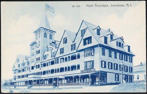 Hotel Thorndyke, Jamestown, R.I.