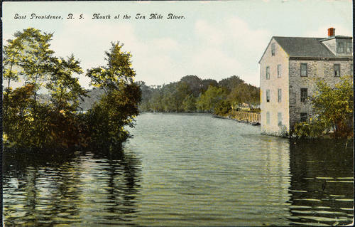 East Providence, R.I. Mouth of the Ten Mile River