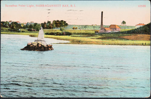 Sassafras Point Light, Narragansett Bay, R.I.