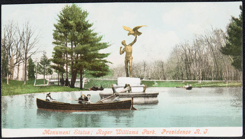 Monument Statue; Roger Williams Park, Providence, R.I.